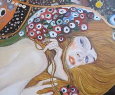 Water Snakes – Gustav Klimt