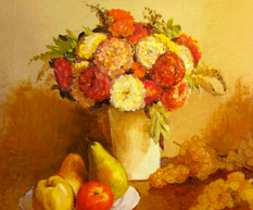 Flowers and Fruit – Henri Fantin-Latour