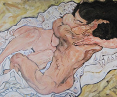 The Embrace – Egon Schiele