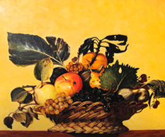 Basket of Fruit Caravaggio